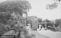 Heysham, Heysham Head, The Gardens c.1955
