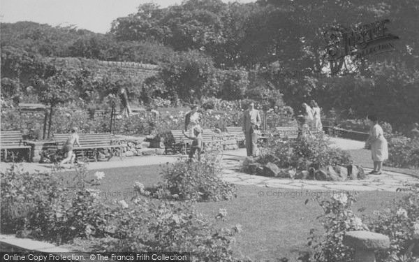 Photo of Heysham, Heysham Head, The Rose Gardens c.1950