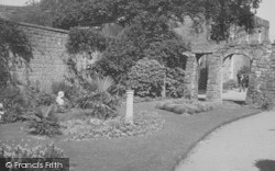Heysham, Heysham Head, The Terrace Garden c.1950