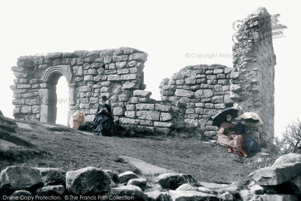 Photo of Heysham, St Patrick's Chapel Ruins, Heysham Head 1888