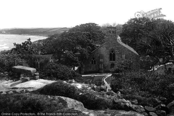 Photo of Heysham, St Peter's Church 1912