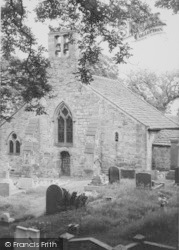 Heysham, St Peter's Church c.1955