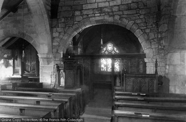Photo of Heysham, St Peter's Church Interior 1888