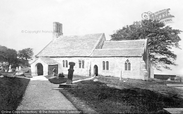 Photo of Heysham, St Peter's Church, South Side 1892