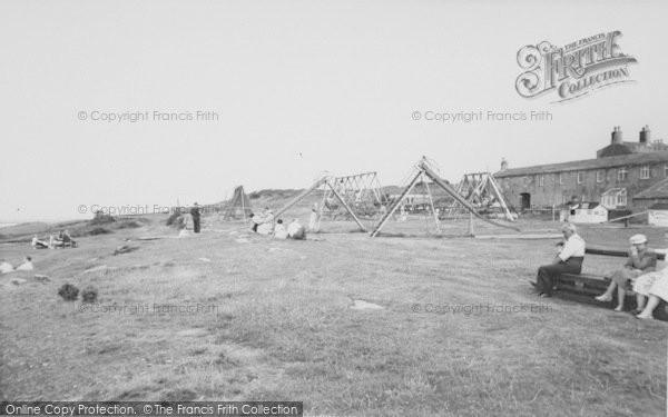 Photo of Heysham, The Children's Playground, Heysham Head c.1955