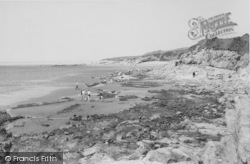 Heysham, The Cliffs c.1960