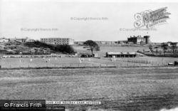 Heysham, The Cricket Ground And Holiday Camp c.1960