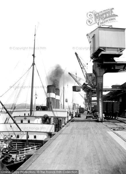 Photo of Heysham, The Docks c.1915