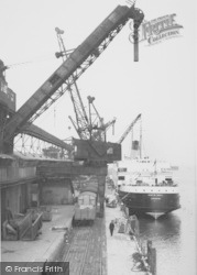 Heysham, The Docks c.1955