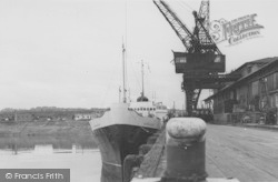 Heysham, The Docks c.1965