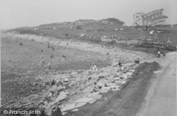 Heysham, The Greens And Shore c.1947
