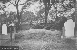 Heysham, The Hog Back Stone c.1915