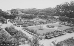 Heysham, The Rose Garden, Lower Heysham c.1955