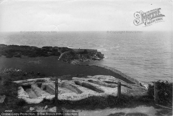 Photo of Heysham, The Stone Coffins 1912