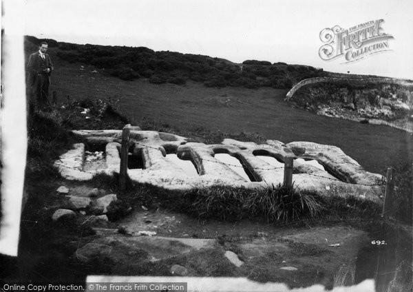 Photo of Heysham, The Stone Coffins c.1915