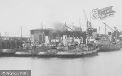 Heysham, Tug Boats c.1955