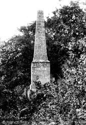 Heyshott, Cobden Monument 1906