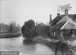 Mill House And Stream c.1955, Heytesbury