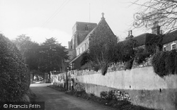 The Church Of St Peter And St Paul From River Walk c.1955, Heytesbury
