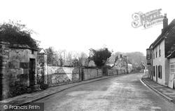 The High Street And Prison c.1955, Heytesbury