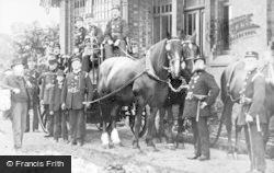 Heywood, Fire Brigade c.1890