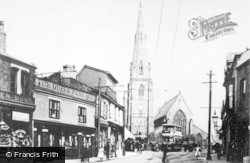 Heywood, Market Street c.1910