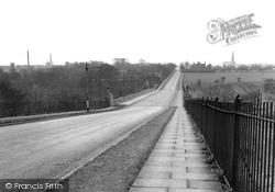 Heywood, Queen's Park Bridge c.1955