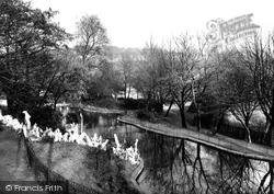 Heywood, Queen's Park c.1955