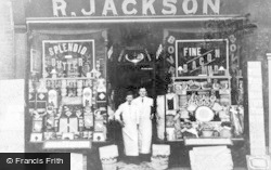 Heywood, R.Jackson, Grocer c.1930