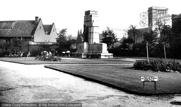 Photo of Heywood, The Cenotaph c.1955