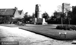 Heywood, The Cenotaph c.1955