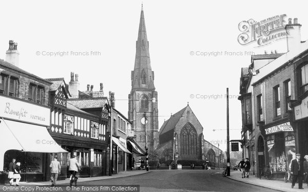 Photo of Heywood, The Centre c.1955