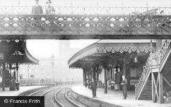 Heywood, The Railway Station c.1910