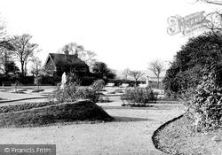 Heywood, The Rose Gardens, Queen's Park c.1950