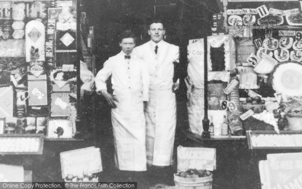 Photo of Heywood, The Staff, Jackson's Grocers' c.1930