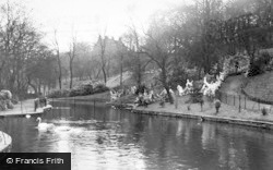 Heywood, The Swans, Queen's Park c.1955