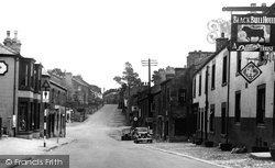 High Bentham, Mount Pleasant From The Cross c.1955