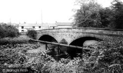 Punch Bowl Inn And Wenning Bridge c.1960, High Bentham
