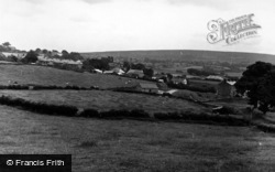 High Bentham, Springfield And Burn Moor c.1955