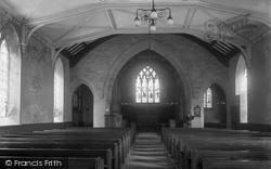 High Bentham, St Margaret's Church Interior c.1910