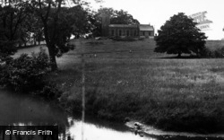 St Margaret's From The River c.1955, High Bentham