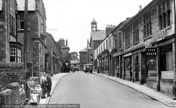 Photo of High Bentham, Station Road c1950
