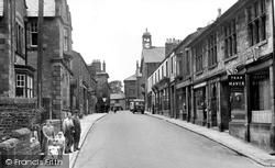 Station Road c.1950, High Bentham