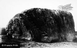 The Big Stone c.1930, High Bentham