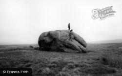 The Big Stone c.1960, High Bentham