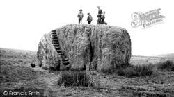 The Big Stone c.1965, High Bentham