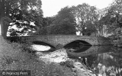 Wenning Bridge c.1955, High Bentham