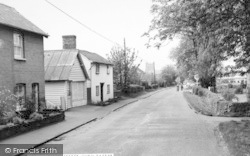 High Easter, Main Street c.1960