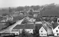 High Easter, View From Church Tower c.1960