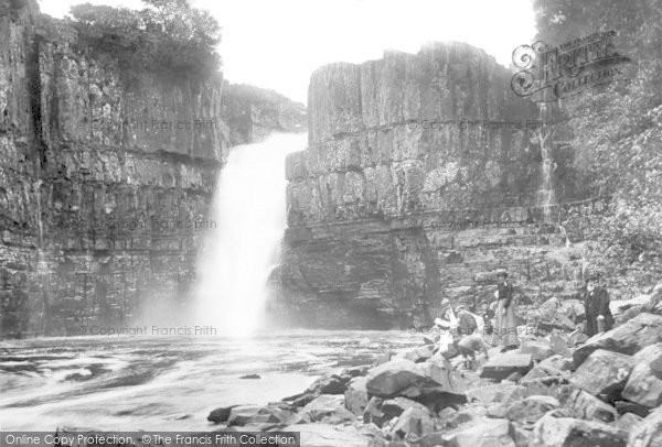 Photo of Middleton-In-Teesdale, High Force 1903, ref. 50043